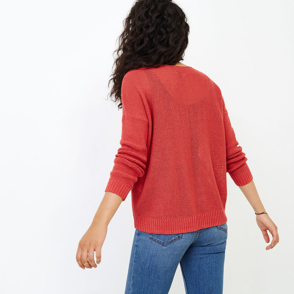 Roots-Women Our Favourite New Arrivals-Hillsview Pullover Sweater-Baked Apple-D