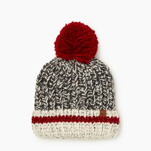 Roots-Kids Accessories-Kids Chunky Cabin Toque-Grey Oat Mix-A
