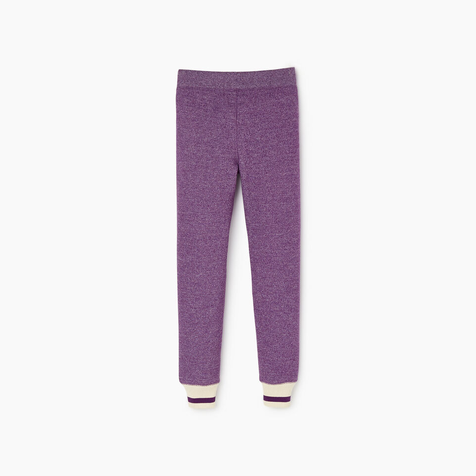 Roots-Kids Our Favourite New Arrivals-Girls Buddy Cozy Fleece Sweatpant-Grape Royale Pepper-B