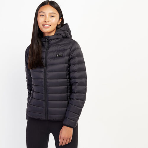 Roots-Women Outerwear-Roots Packable Jacket-Black-A