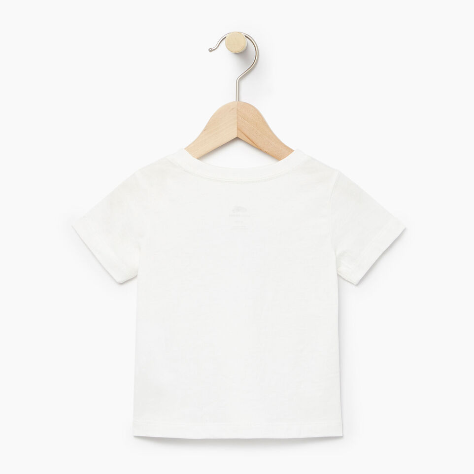 Roots-Kids Our Favourite New Arrivals-Baby Moonbeam T-shirt-Ivory-B