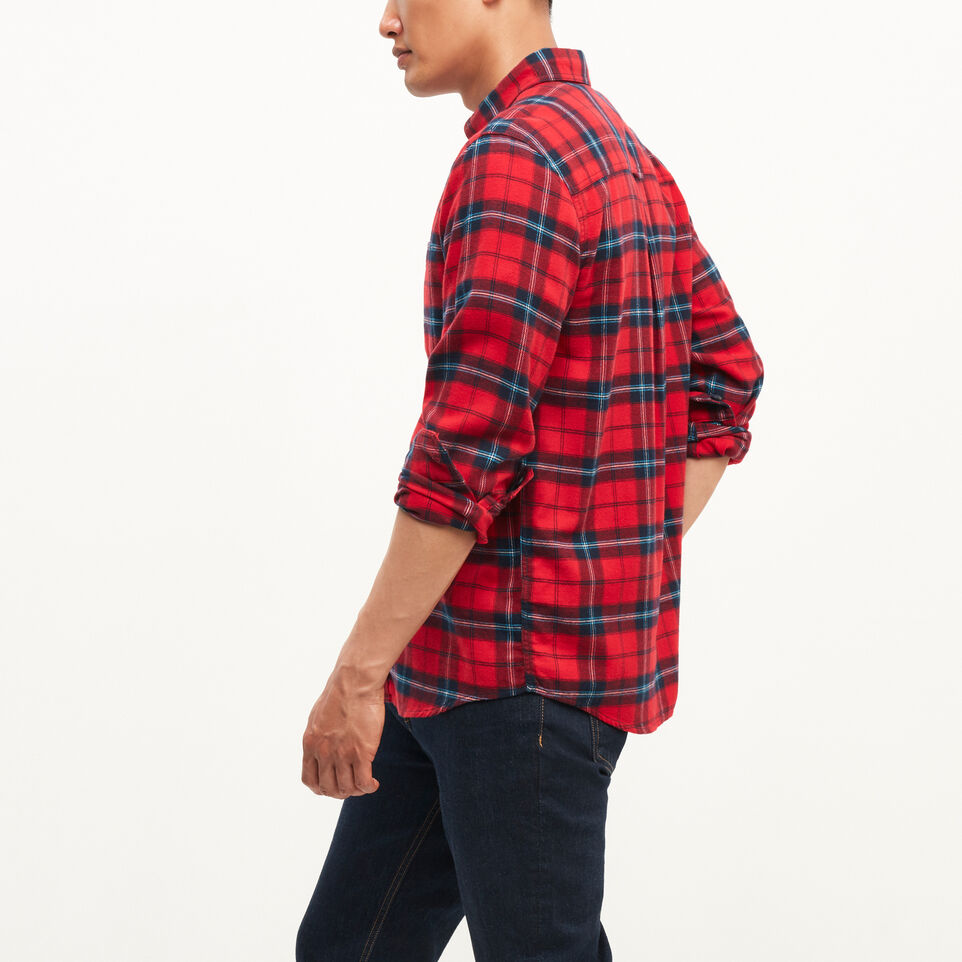 Roots-undefined-Manning Flannel Shirt-undefined-C