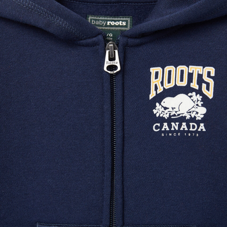 Roots-undefined-Baby Sideline Full Zip Hoody-undefined-C