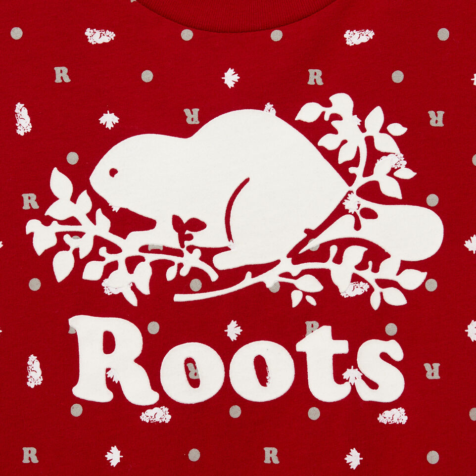 Roots-undefined-Womens Maples Classic T-shirt-undefined-D