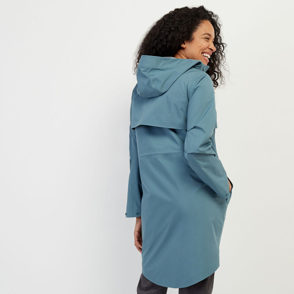 Roots-New For February Journey Collection-Journey Rain Jacket-North Atlantic-D