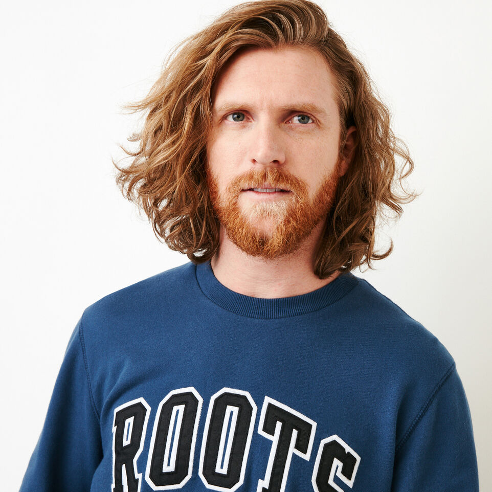 Roots-undefined-Arch Crew Sweatshirt-undefined-E