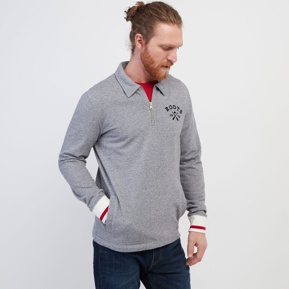 Roots-undefined-Cabin Zip Polo-undefined-A