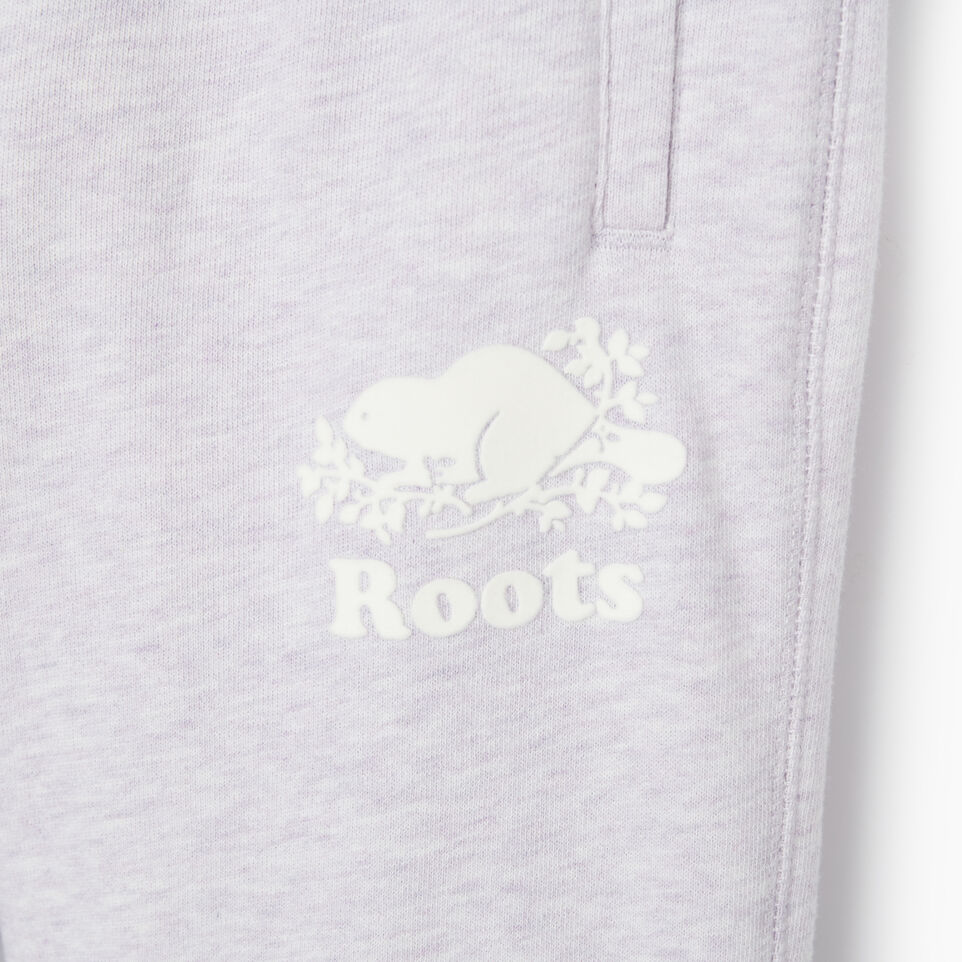 Roots-Sale Kids-Girls Easy Ankle Sweatpant-Wisteria Mix-C