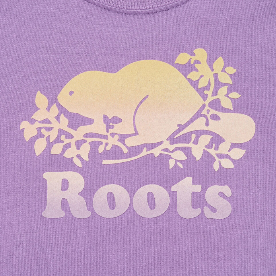 Roots-undefined-Girls Gradient Cooper T-shirt-undefined-D
