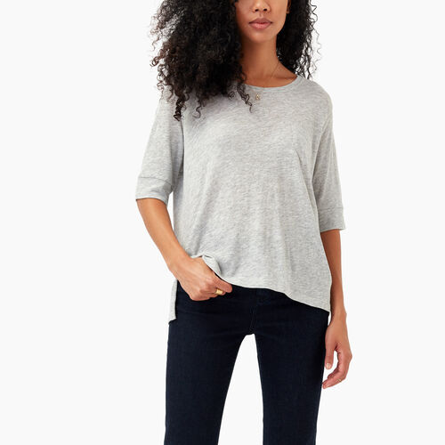 Roots-Black Friday Deals Tops-Ember Pocket Top-Grey Mix-A