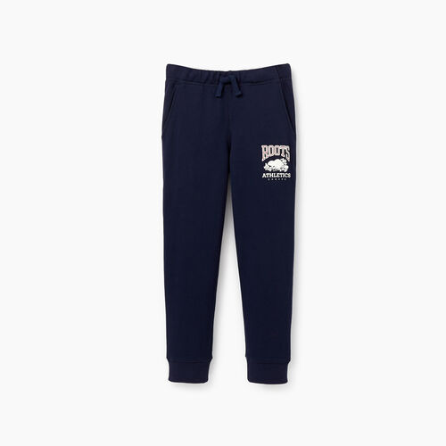 Roots-New For March Rba Collection-Boys RBA Park Slim Sweatpant-Navy Blazer-A