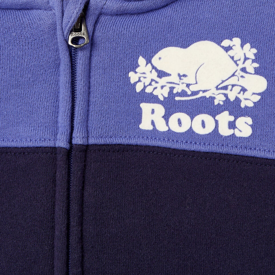 Roots-undefined-Baby Colour Block Full Zip Hoody-undefined-C