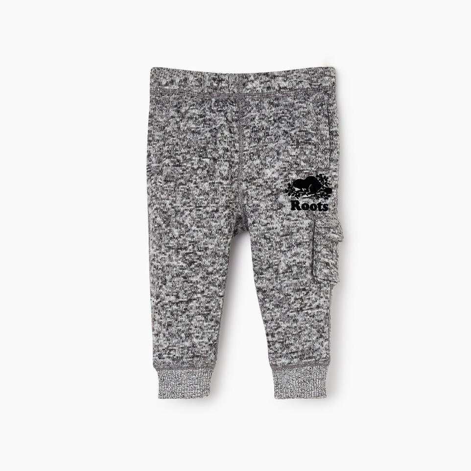 Roots-undefined-Baby Sweater Fleece Cargo Pant-undefined-A