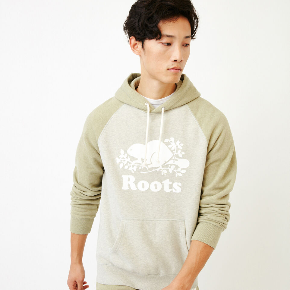 Roots-Men Our Favourite New Arrivals-Cooper Kanga Hoody-Spray Green Mix-A