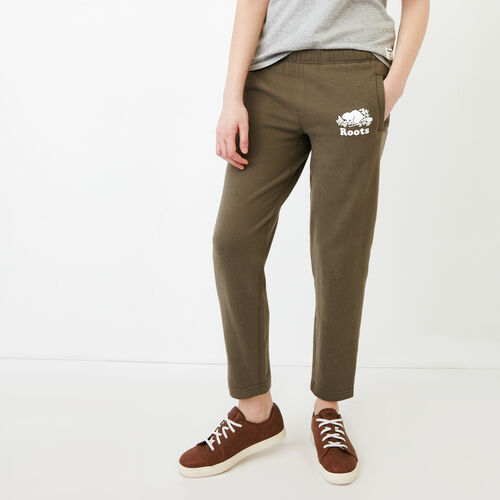 Roots-Women Categories-Easy Ankle Sweatpant-Fatigue-A