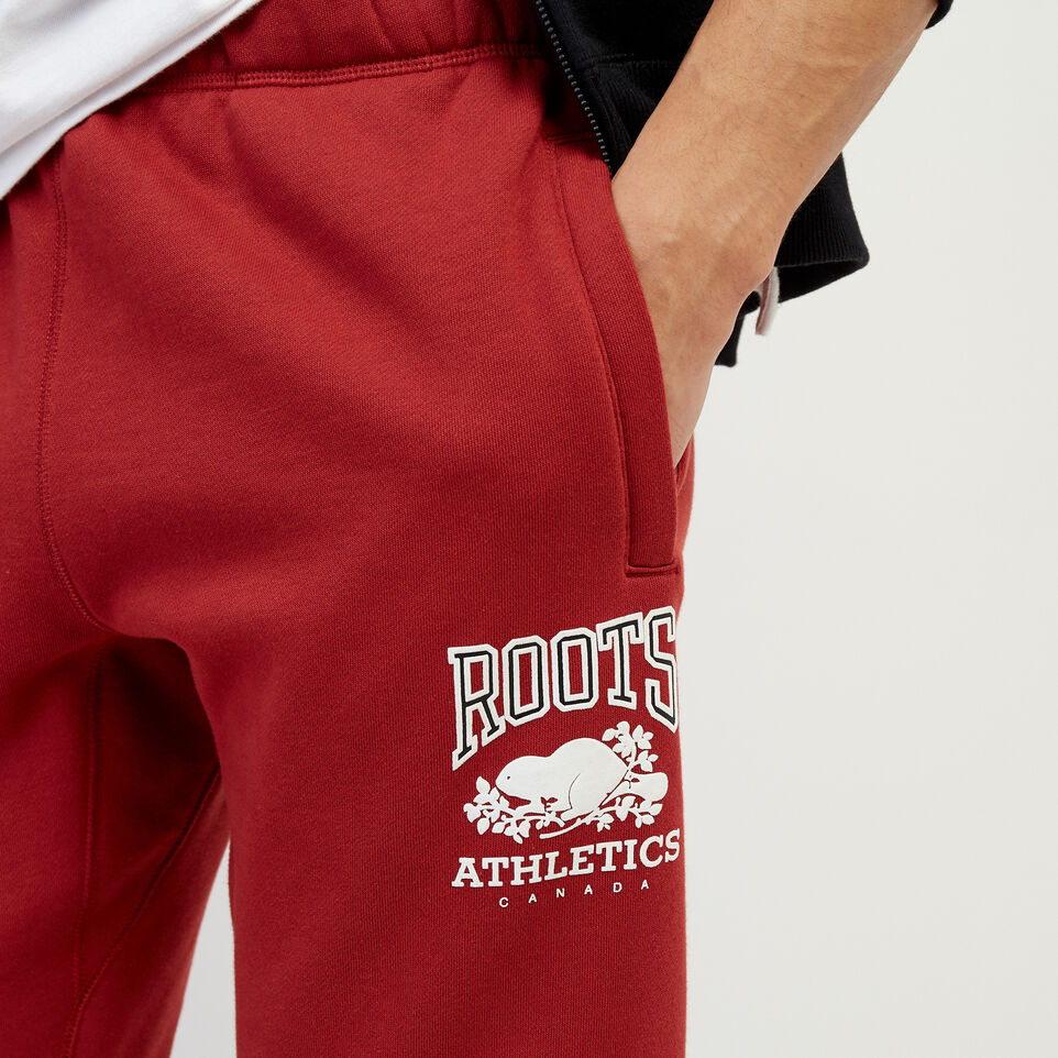 Roots-New For March Rba Collection-RBA Park Slim Sweatpant-Rosewood-E