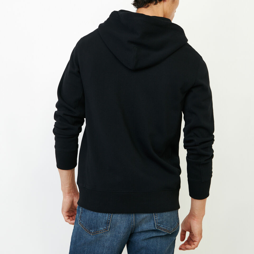 Roots-Men New Arrivals-Roots Breathe Zip Hoody-Black-D