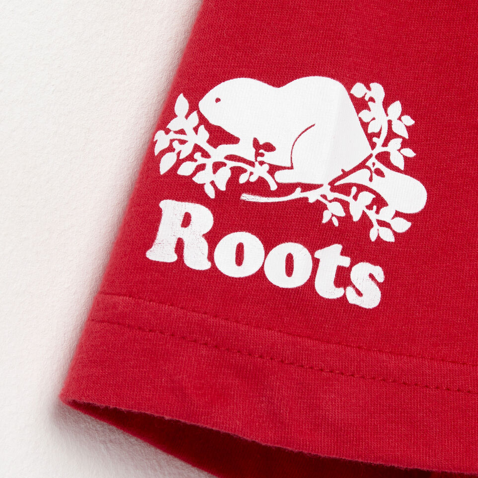 Roots-undefined-T-shirt blason pour hommes-undefined-E