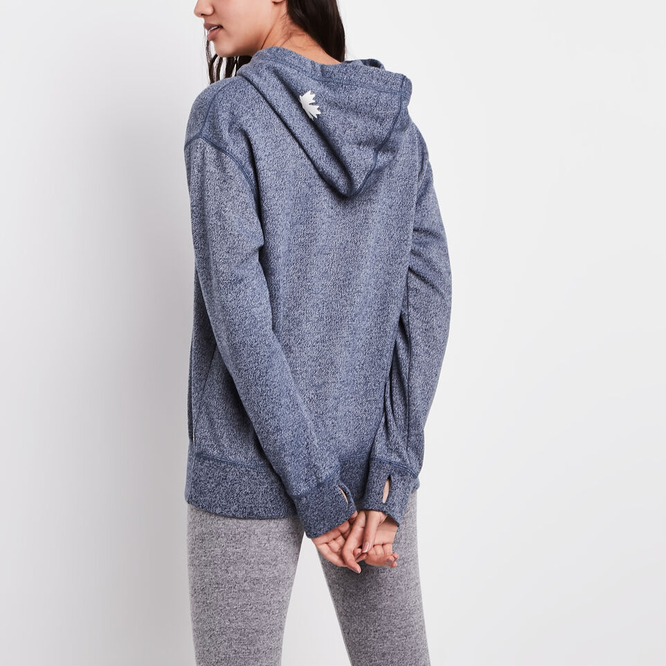 Roots-undefined-Olivia 1/4 Zip Hoody-undefined-D