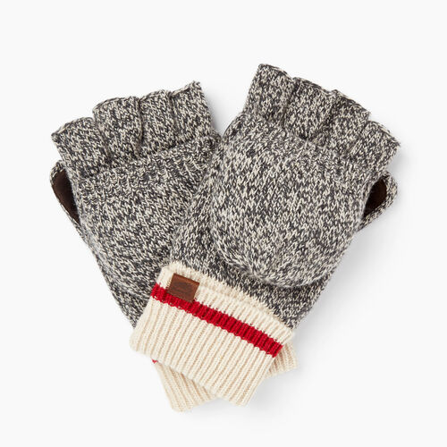 Roots-Men Our Favourite New Arrivals-Roots Cabin Flip Mitt-Grey Oat Mix-A