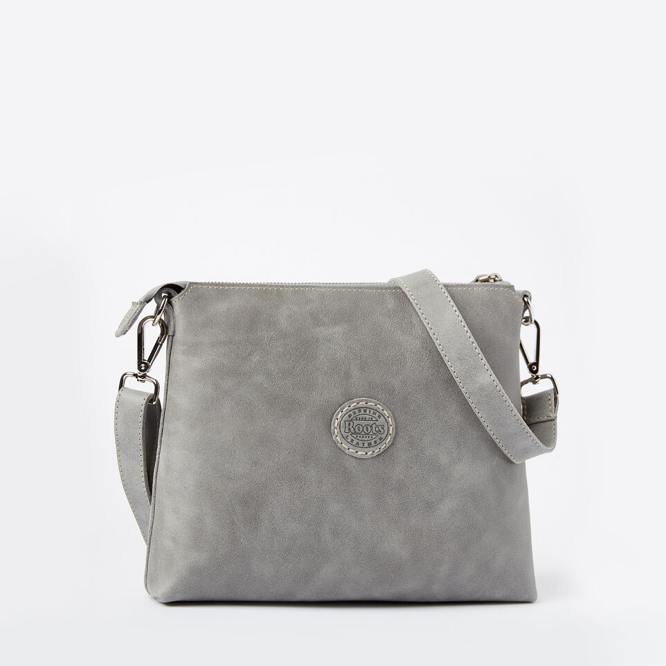 Roots-Leather Roots Original Flat Bags-The Villager Tribe-Quartz-C
