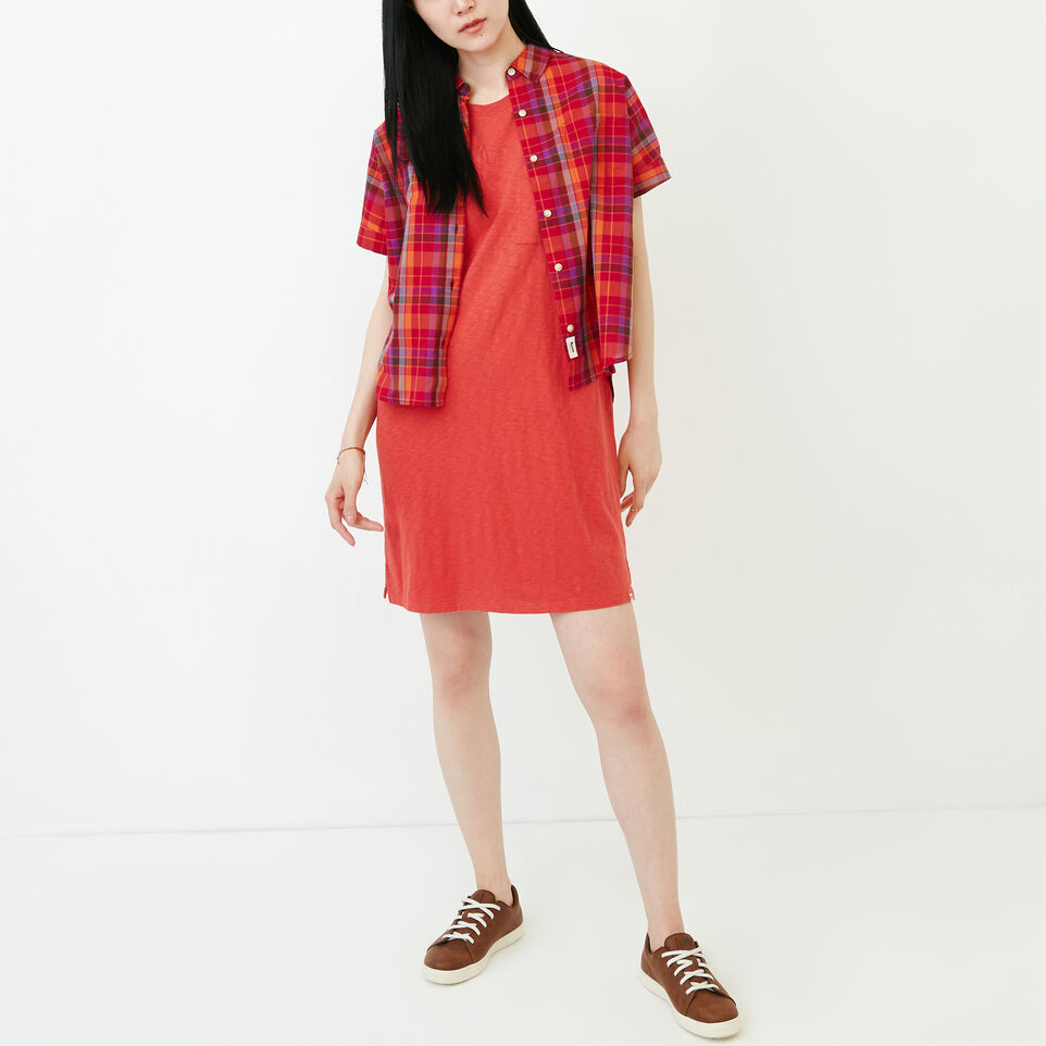 Roots-Women Our Favourite New Arrivals-Madeira Pocket Dress-Baked Apple-B