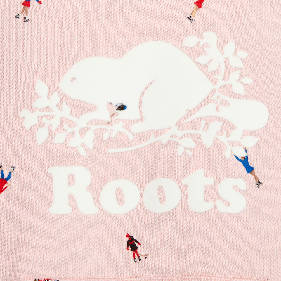 Roots-Kids Our Favourite New Arrivals-Toddler Skater Kanga Hoody-Light Pink-D