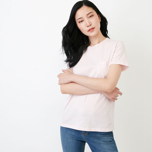 Roots-Clearance Tops-Essential T-shirt-Cradle Pink-A