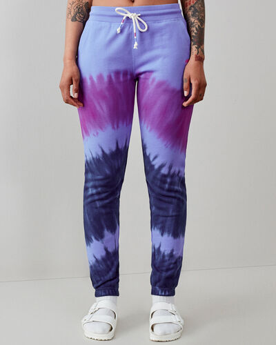 Roots-Sweats Sweatsuit Sets-Camp Tie Dye Sweatpant-Wedgewood-A