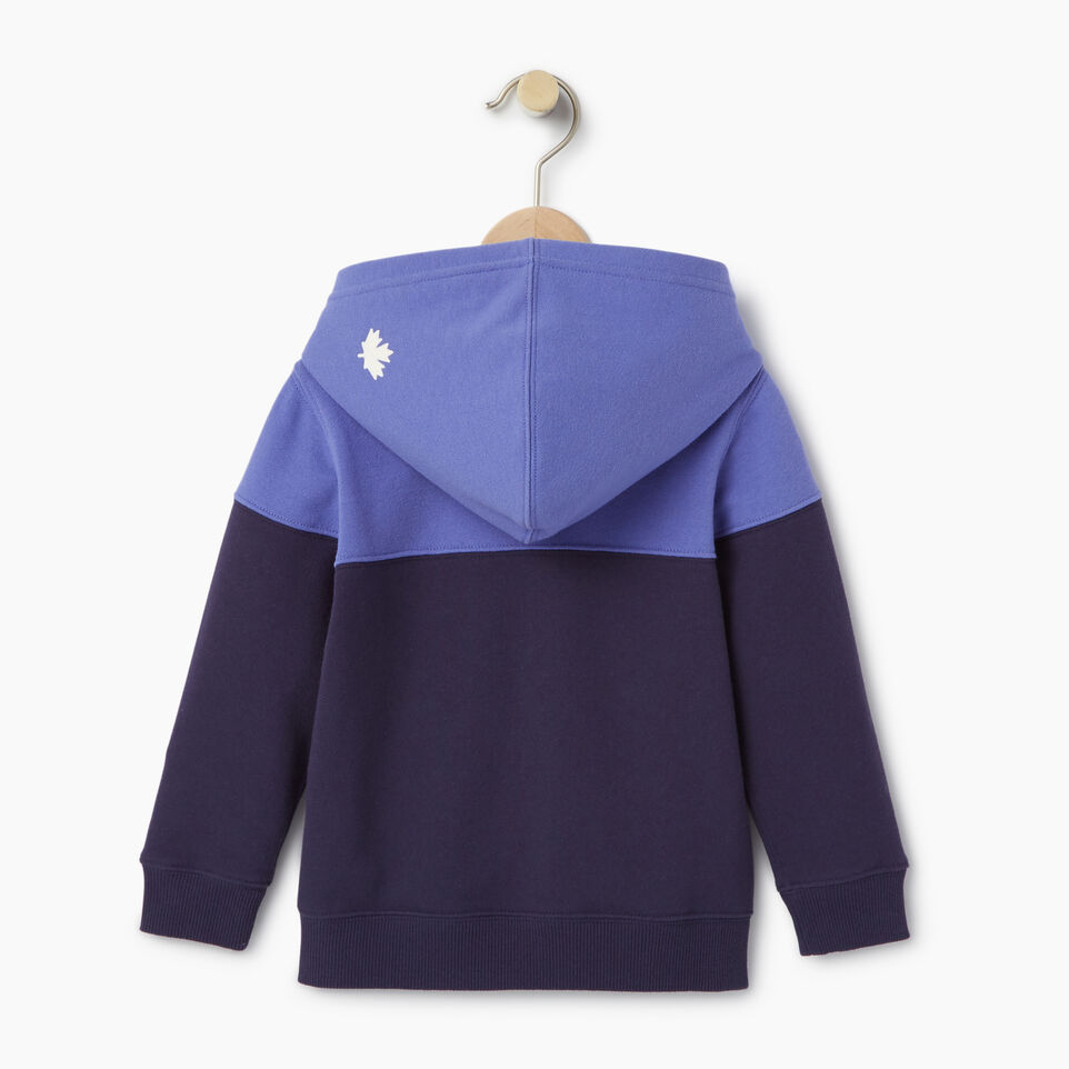 Roots-Kids Our Favourite New Arrivals-Toddler Colour Block Full Zip Hoody-Violet Storm-B