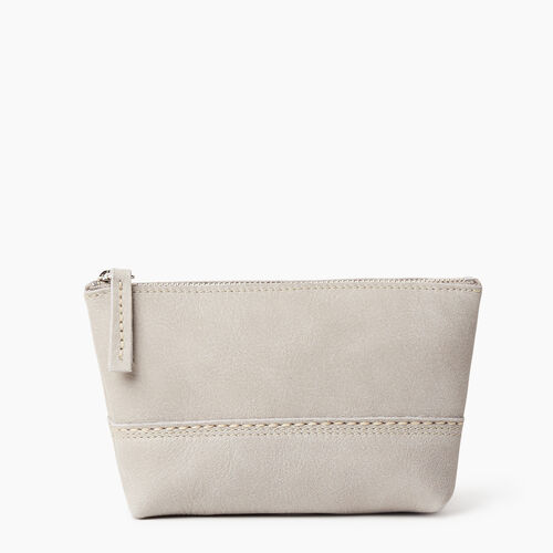 Roots-Leather New Arrivals-Small Canmore Pouch Tribe-Sterling Grey-A