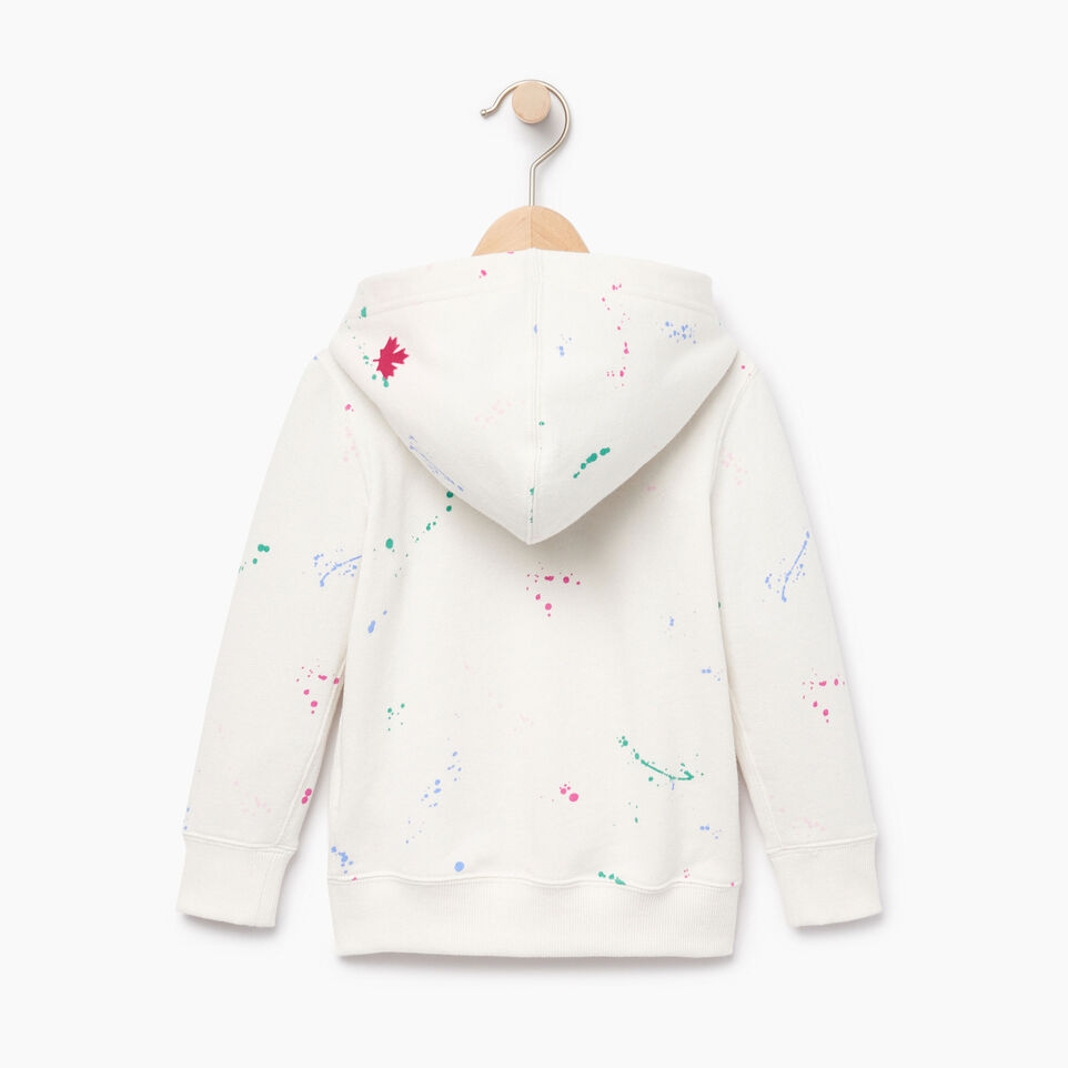 Roots-Kids Our Favourite New Arrivals-Toddler Splatter Full Zip Hoody-Cannoli Cream-B