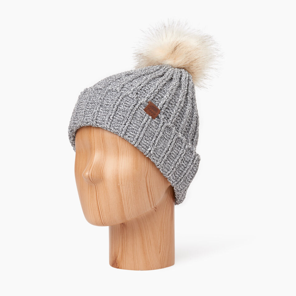 Roots-undefined-Kid Girl Chenille Toque-undefined-B