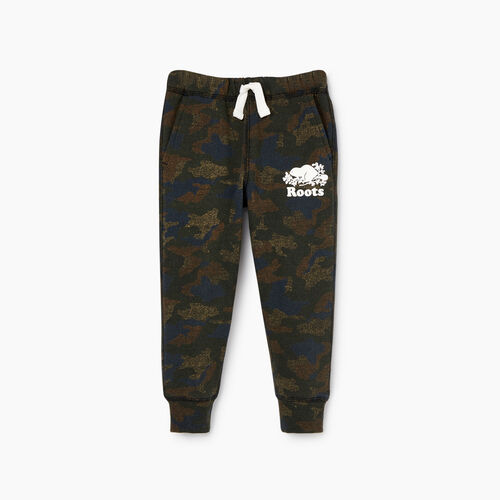 Roots-Kids Our Favourite New Arrivals-Toddler Park Slim Sweatpant-Camo Print-A