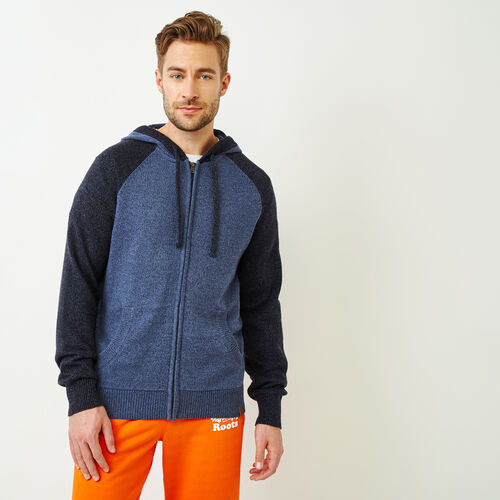 Roots-Men Our Favourite New Arrivals-Montclair Sweater Hoody-Dark Denim Mix-A