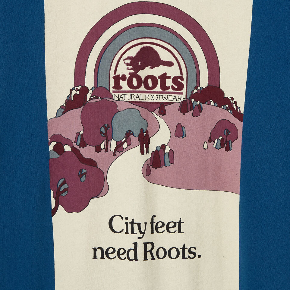 Roots-undefined-Mens City Feet Poster T-shirt-undefined-D