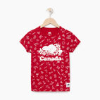 Roots-Kids Our Favourite New Arrivals-Girls Canada Aop T-shirt-Sage Red-A