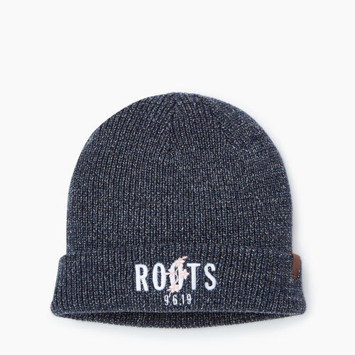 Roots-New For December Roots X Shawn Mendes: Limited-edition Capsule Collection-Roots x Shawn Mendes Toque-Navy Blazer Mix-A