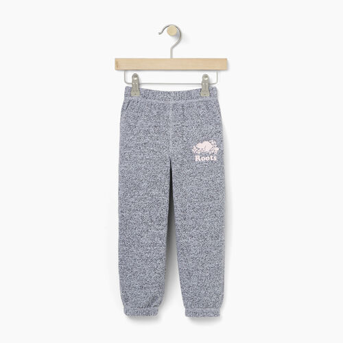 Roots-Sweats Toddler Girls-Toddler Original Roots Sweatpant-Salt & Pepper-A