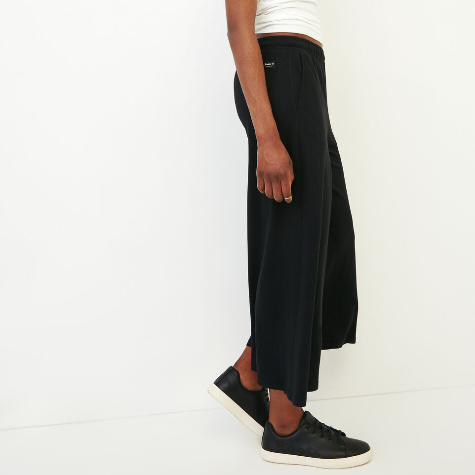 Roots-Women Our Favourite New Arrivals-Summerside Culotte-Black-C