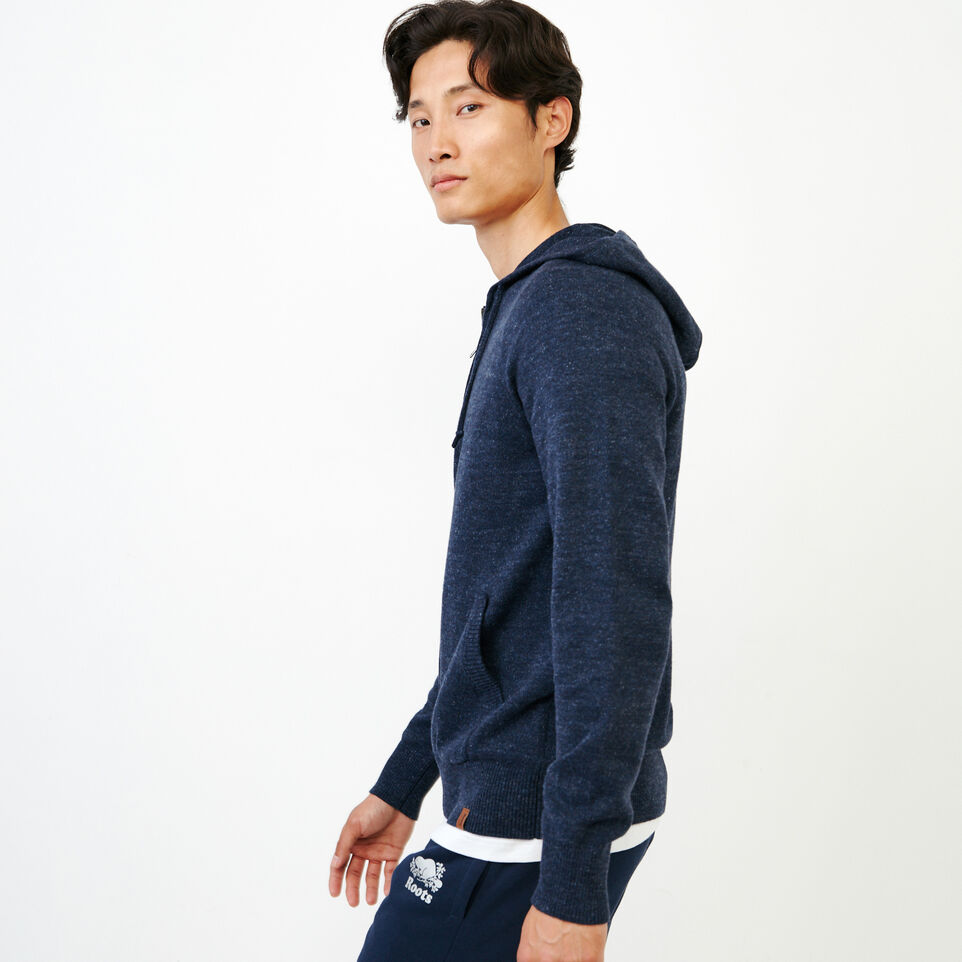Roots-Men Our Favourite New Arrivals-All Seasons Full Zip Hoody-Navy Blazer Mix-C