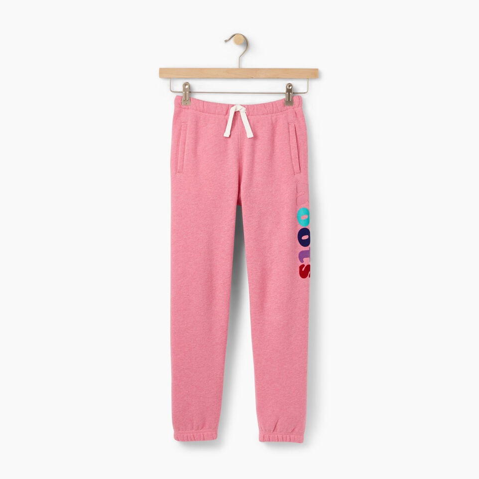 Roots-Winter Sale Kids-Girls Roots Remix Sweatpant-Pink Mix-A
