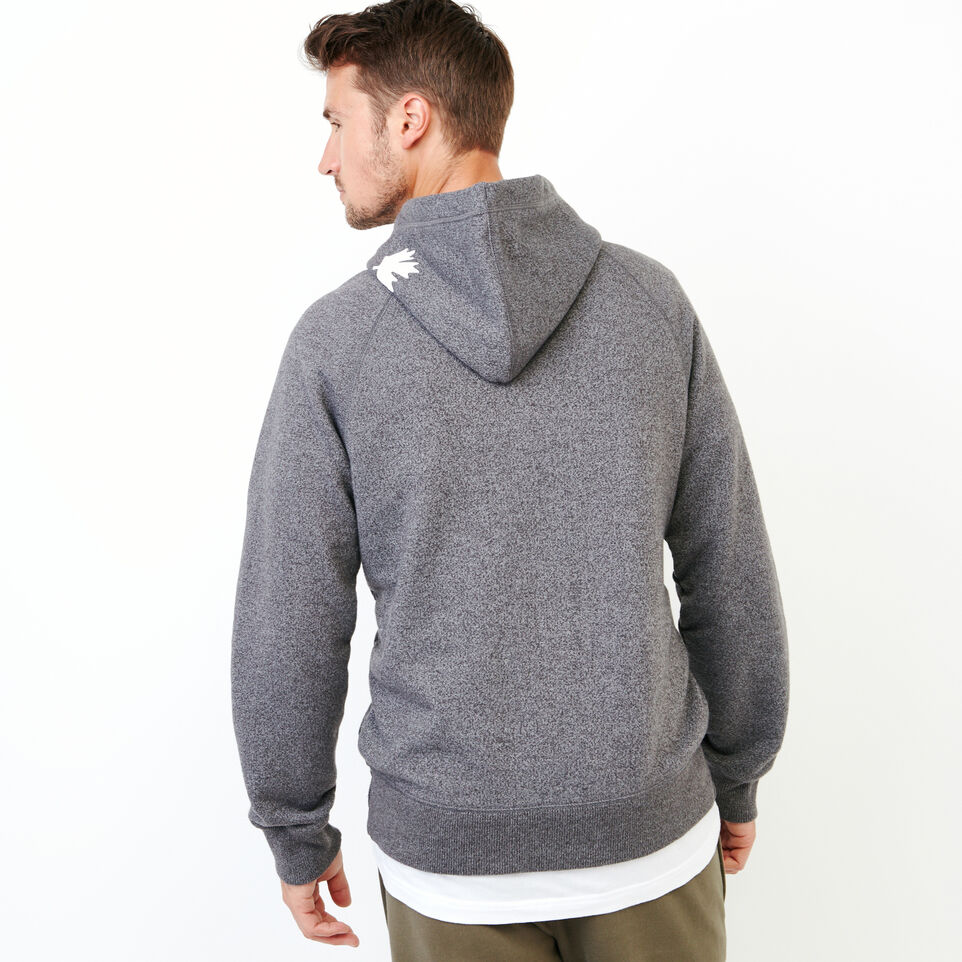 Roots-Men Our Favourite New Arrivals-Original Kanga Hoody-Charcoal Pepper-D