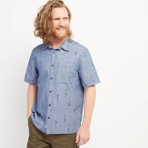 Roots-Sale Tops-Bonita Indigo Shirt-Indigo-A