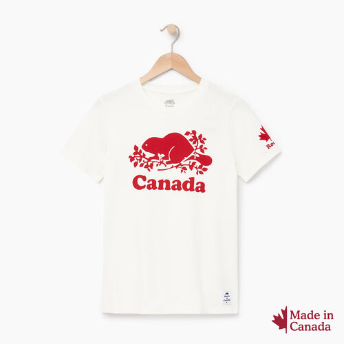 Roots-Women Collections-Womens Roots Canada T-shirt-Ivory-A