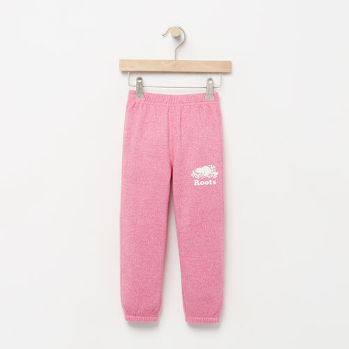 Roots-Kids Bottoms-Toddler Original Roots Sweatpant-Azalea Pink Pepper-A