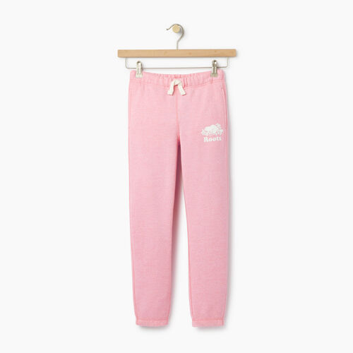 Roots-Clearance Kids-Girls Original Roots Sweatpant-Pastl Lavender Pper-A