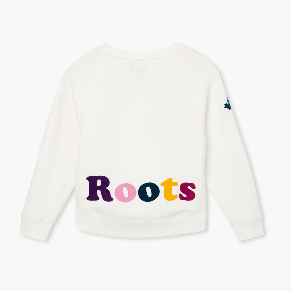 Roots-undefined-Girls Remix Crew Sweatshirt-undefined-B