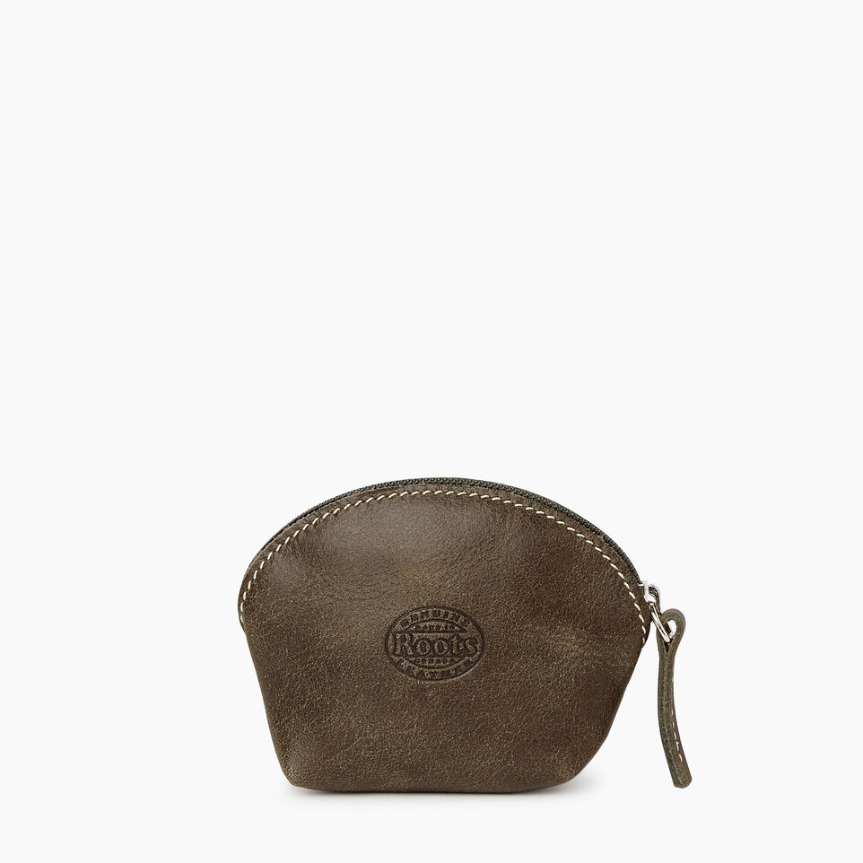 Roots-Women Categories-Small Euro Pouch-Pine-B