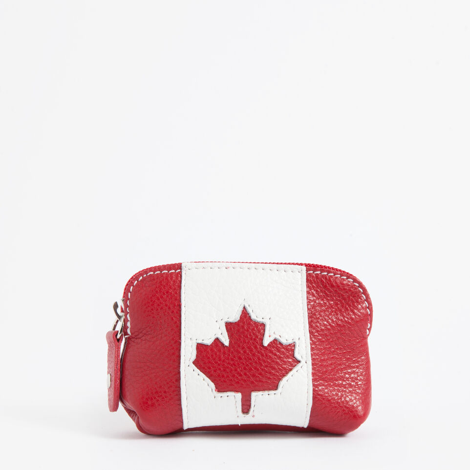Roots-undefined-Small Canadian Flag Pouch Prince-undefined-C